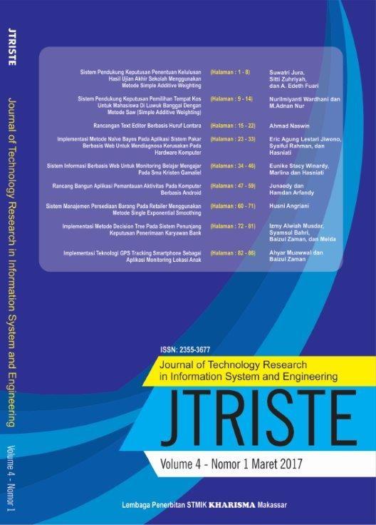 JTRISTE Cover